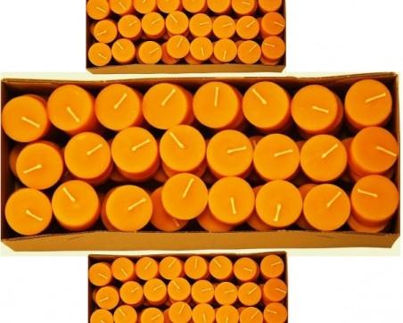 Cire D'abeille bougie chauffe-plat 100% (96pcs.)