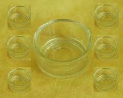 """Стеклянная подставка- стаканчик под """"Tealight"""" Чайную свечку."""