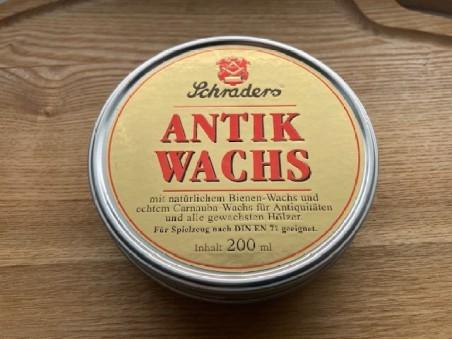 Soin des antiquités en bois à base de cire d'abeille (200 ml)