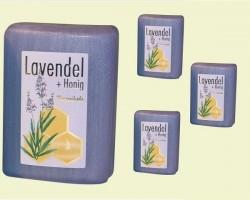Honey lavender soap (100gr.)
