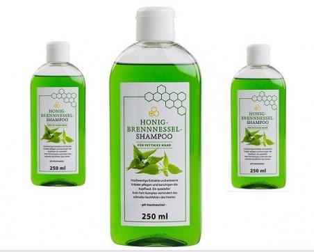 Shampooing au miel et à l'ortie (250ml)
