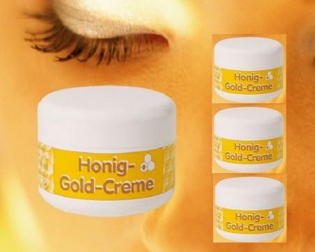 Honey gold cream (100ml)