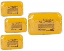 Honigseife mit Honigduft mit Etikett 100 g