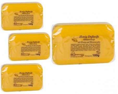Медовое мыло с ароматом мёда (100г с этикеткой)