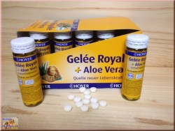 Gelée Royale+Aloe Vera (Suck / chewing tablets)