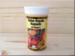 Gelée Royale Kapseln mit Vitamin E (100 Stk)