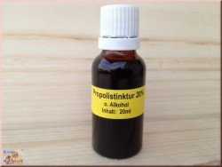 Propolis tincture 20% without alcohol, (20ml)